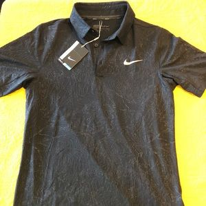 Nike Black polo shirt size S